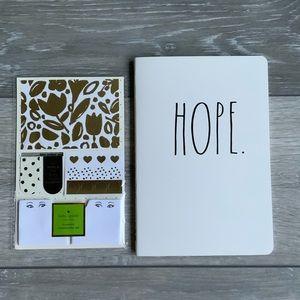 Rae Dunn and Kate Spade Notebook bundle